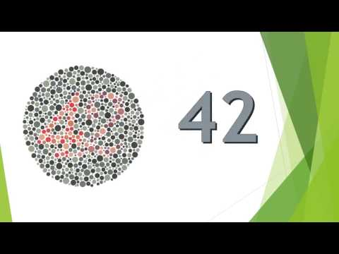 Best Colour Blindness Test in 1 minute - Mandatory for Driving License - ishihara test