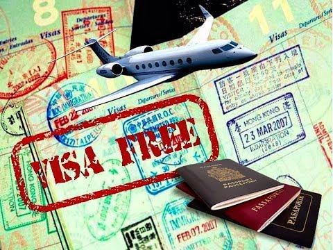 Visa free countries kese jana hy?