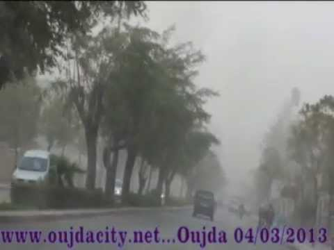 oujdacity.net / tempete de sable a oujda / visiter oujda maroc