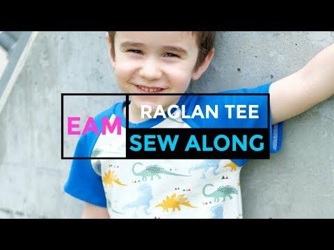 Sew The Kids Raglan Tee Pattern With Us!