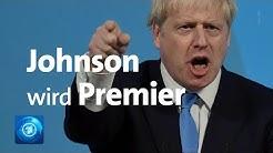 Brexit-Hardliner Boris Johnson wird Tory-Chef und neuer britischer Premier