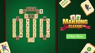 Mahjong Classic best matching tiles game in Google Play