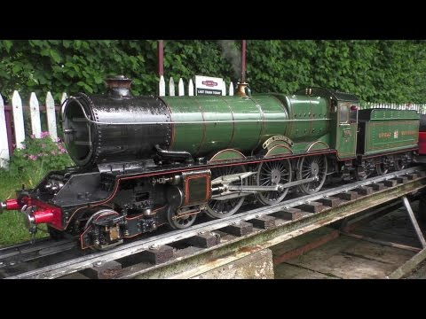 3 1/2 inch Gauge GWR King Edward VII 6001 Live Steam Locomotive - Great Western