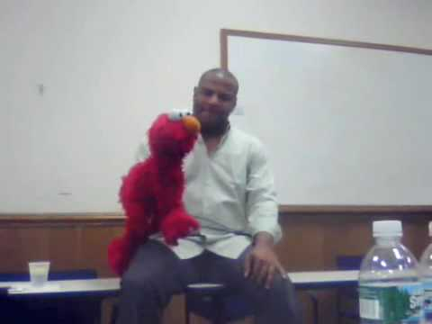 Kevin Clash and ELMO!