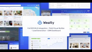 RealtyPress Crea DDF & Wealty overview - IDX plugin for WordPress