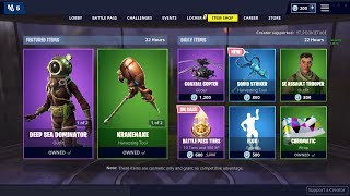 NEW DAILY ITEM SHOP COUNTDOWN FEBRUARY 21ST NEW SKINS - FORTNITE BATTLE ROYALE LIVE