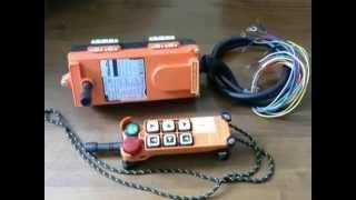 видео Радиоуправление кран-балкой и перевод крана на радиоуправление