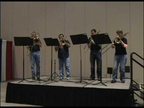 Tico Tico for Trombone Quartet