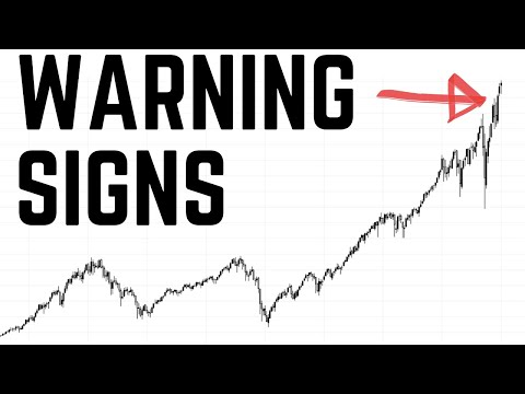 3 BIG Warning Signals Indicating a Stock Market SELL OFF