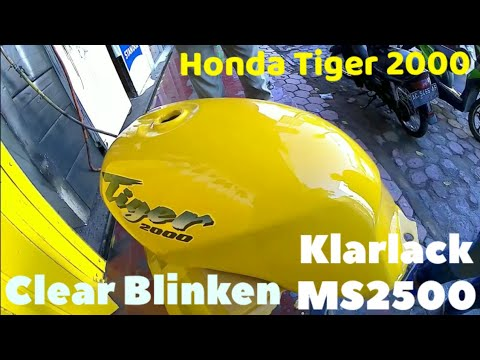 Clear BLINKEN klarlack MS 2500,HondaTiger warna original