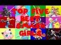 TOP FIVE BEST SUPER SMASH BROS. ULTIMATE GIRLS! [Valentine's Day Special]