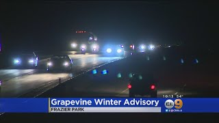 Traffic Moving Along The Grapevine -- For Now