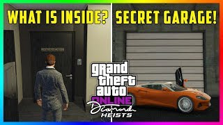GTA 5 Online Casino Heist DLC Update - NEW DISCOVERIES! Secret Garage, Restricted Areas & MORE!