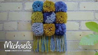 DIY Pom Pom Wall Decor | Michaels