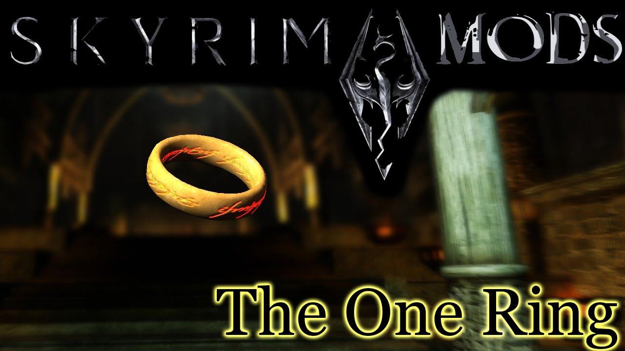 Skyrim Mods - LOTR: The One Ring