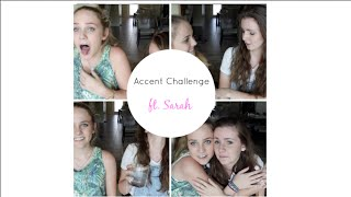 Accent Challenge ft. Sarah Boo ♡