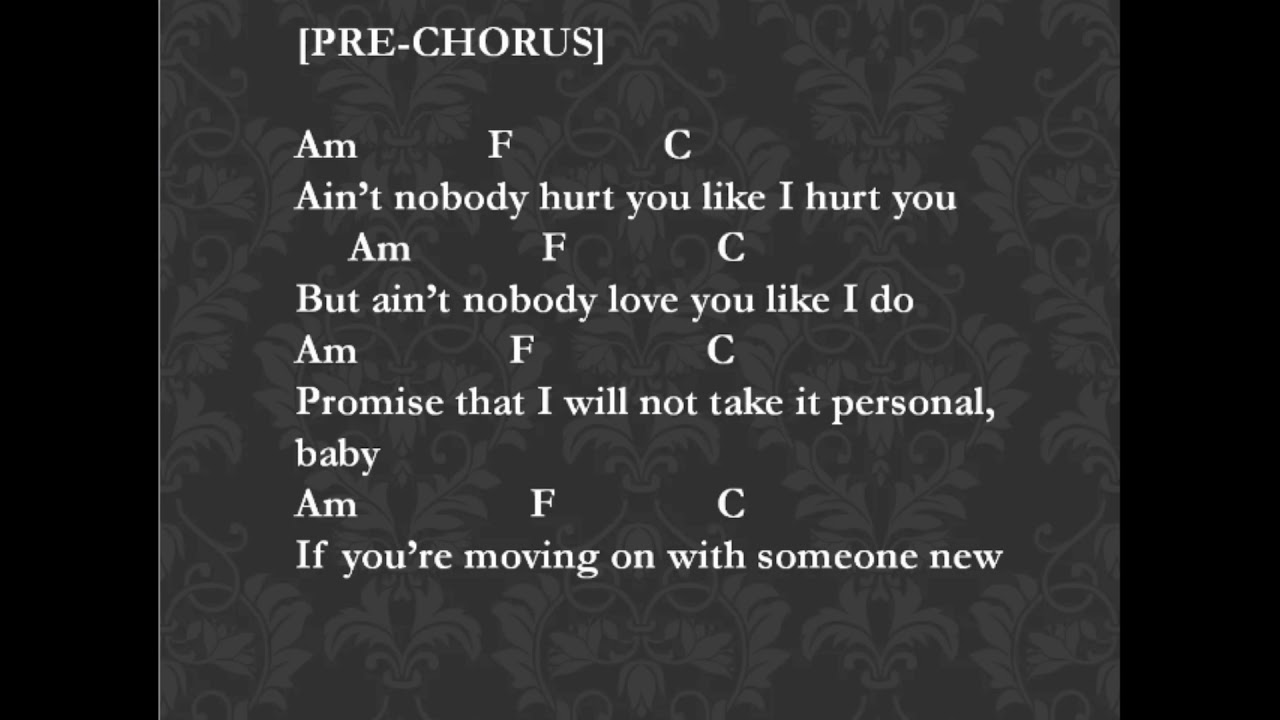 Ed Sheeran Happier Chords & Lyrics