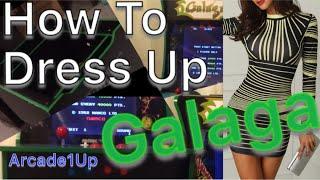 Arcade1Up - Pinstripes for Galaga and Ninja Masters Gameplay