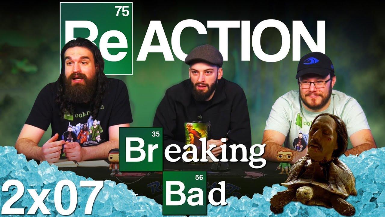 """Download Breaking Bad 2x7 REACTION!! """"Negro y Azul"""""""