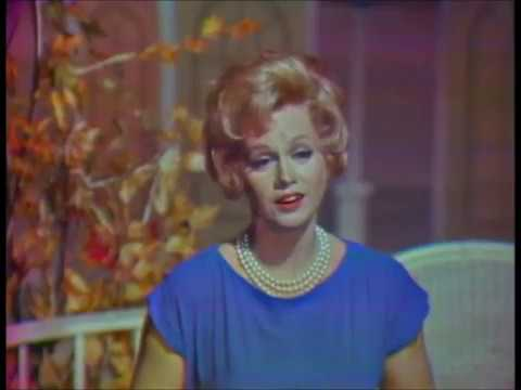 """Barbara Cook-- """"A Tribute to WWII"""" on The Bell Telephone Hour, 1965."""
