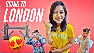 GOING TO LONDON WITH BROTHER & SISTER | Rimorav Vlogs