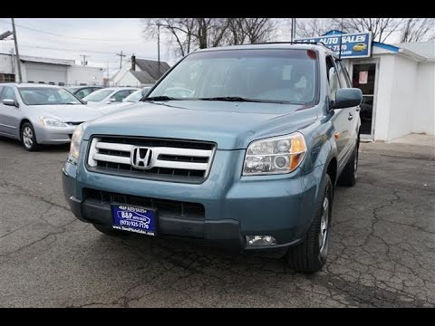 2008 Honda Pilot EX NJ Used SUV For Sale