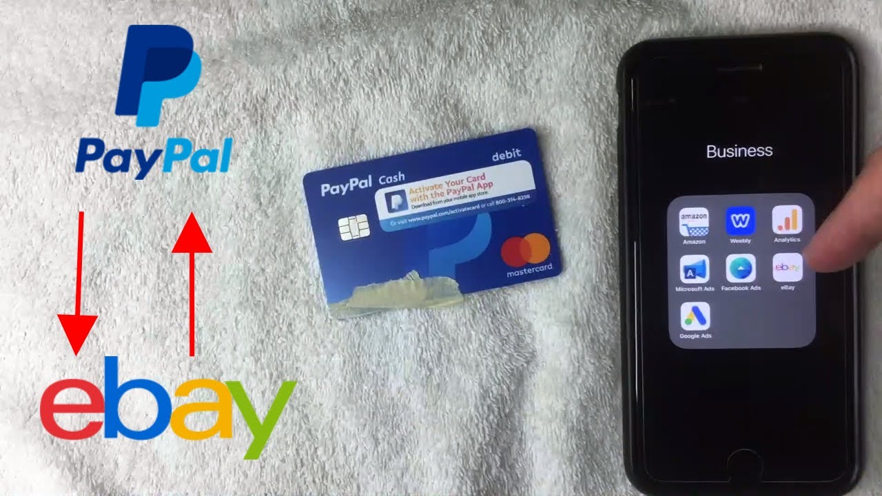 Can You Add Paypal Cash Debit Mastercard To Ebay Youtube