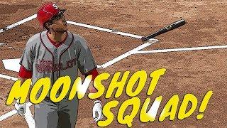 MOONSHOT SQUAD IS BACK!! 90+ POWER! MLB THE SHOW 17 DIAMOND DYNASTY