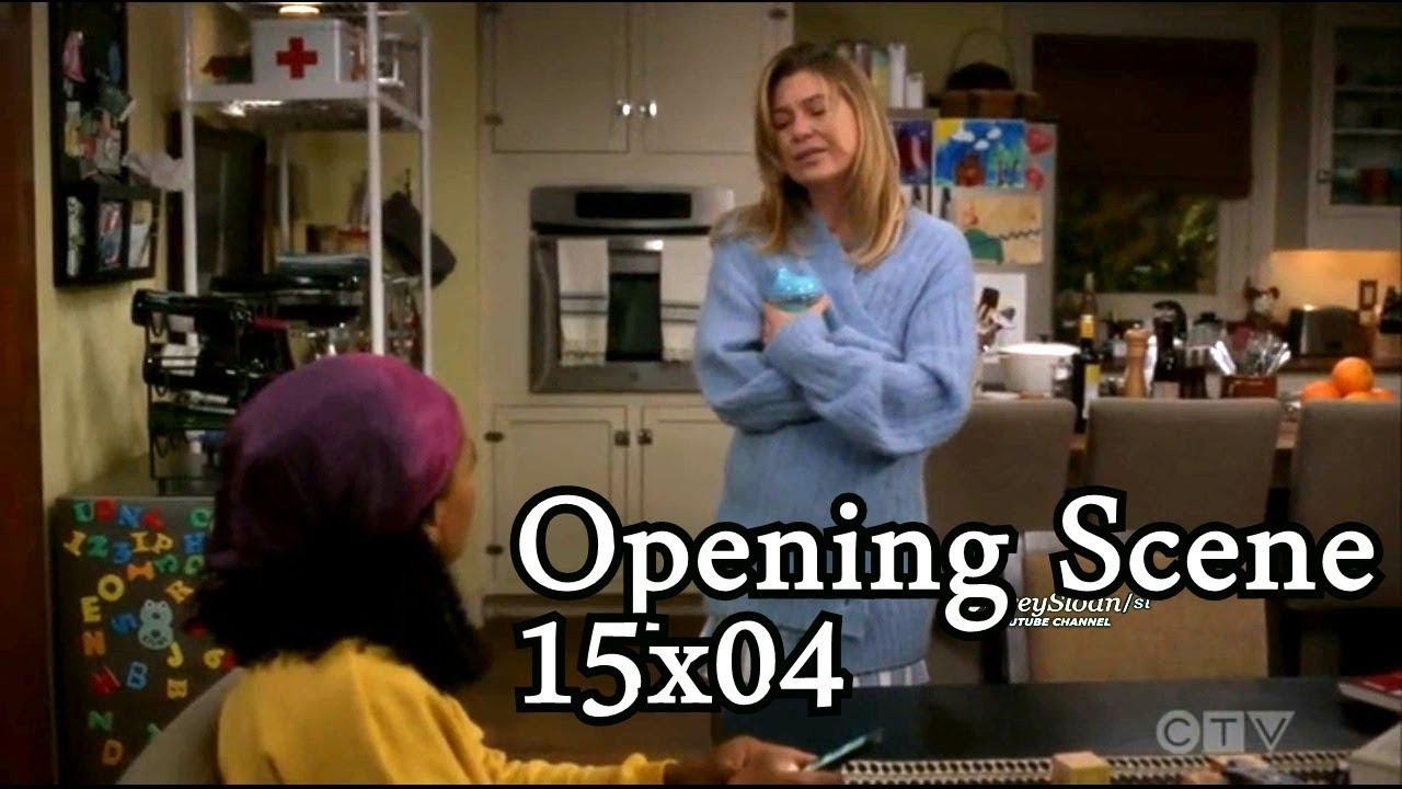 Download 5.32 MB # Grey\'s Anatomy 15x04 Opening Scene Meredith ...