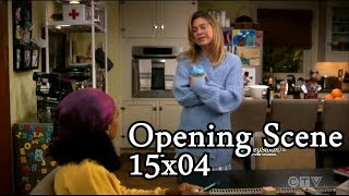 Grey's Anatomy 15x04 Opening Scene Meredith & Maggie Talk - Amelia Argues with Betty