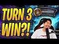 TURN 3 MECHA'THUN OTK?! | Brawliseum Mecha'thun Warlock | Rastakhan's Rumble | Hearthstone