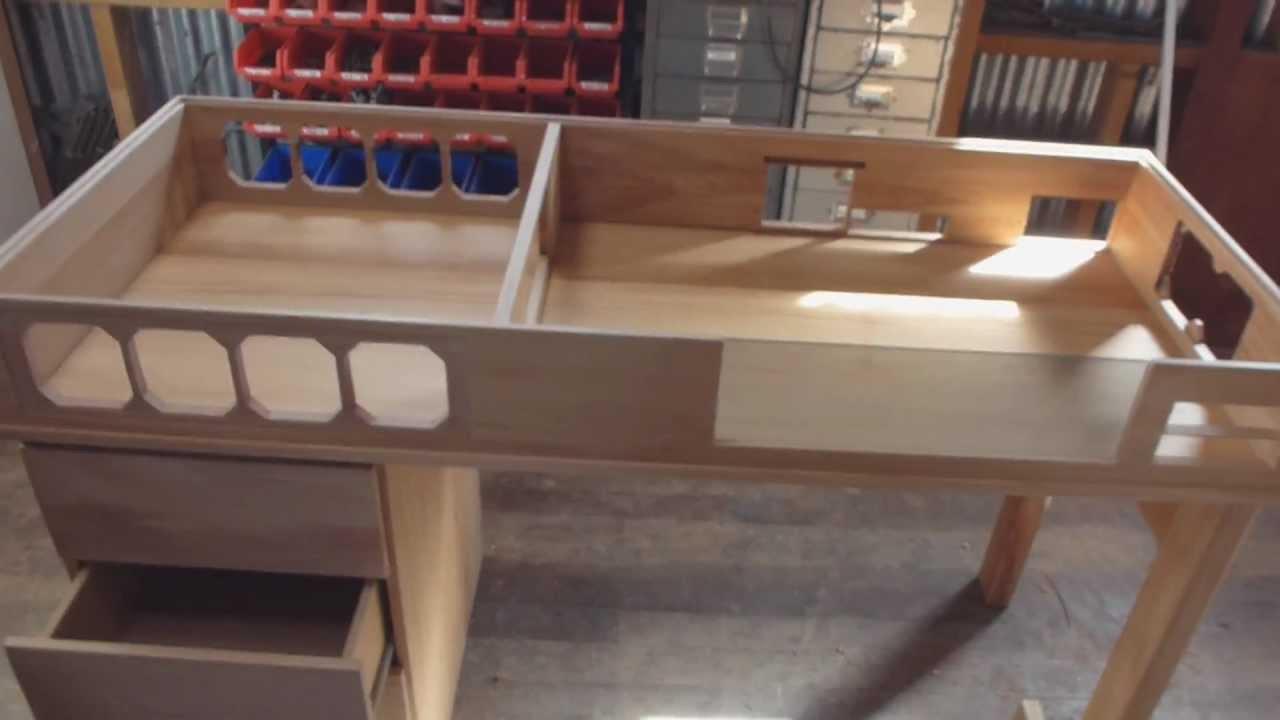 Custom Made Watercooled Desk  Part 1  YouTube