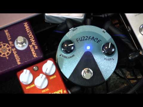 Dunlop Hendrix Fuzz Face Mini FFM3  Demo with worship leader Jared Stepp