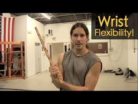 GREAT Wrist Flexibility Exercises for KALI - Filipino Martial Arts!