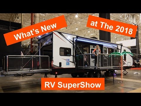 2018 Ohio RV SuperShow, New RV Floorplans , Gear And Accessories