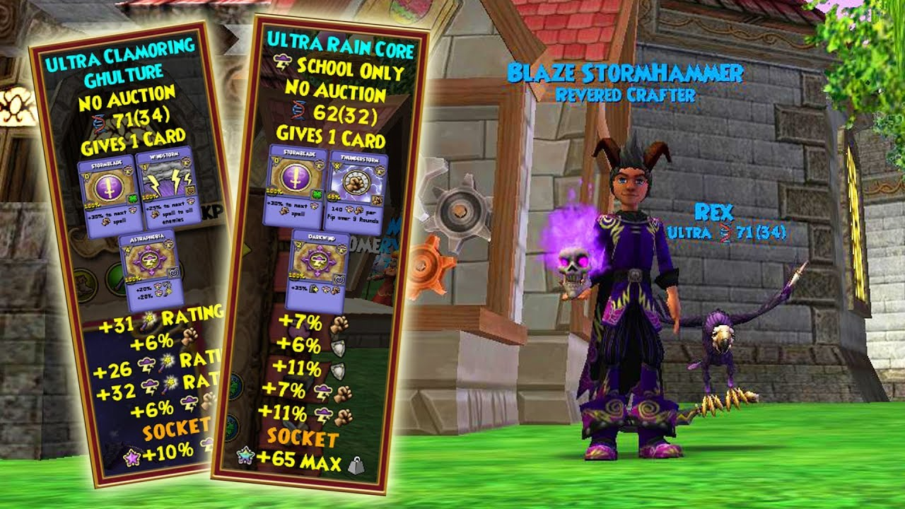 Wizard101: Putting My Best Pets in the Hatchmaking Kiosk!