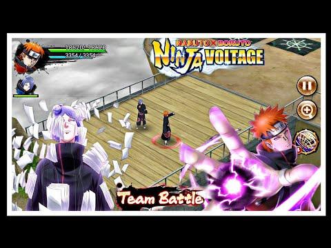 Pain (tendo)  & Konan || Team Battle || Naruto X Boruto Ninja Voltage