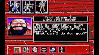 Knights of Legend (MS-DOS) Intro und Gameplay