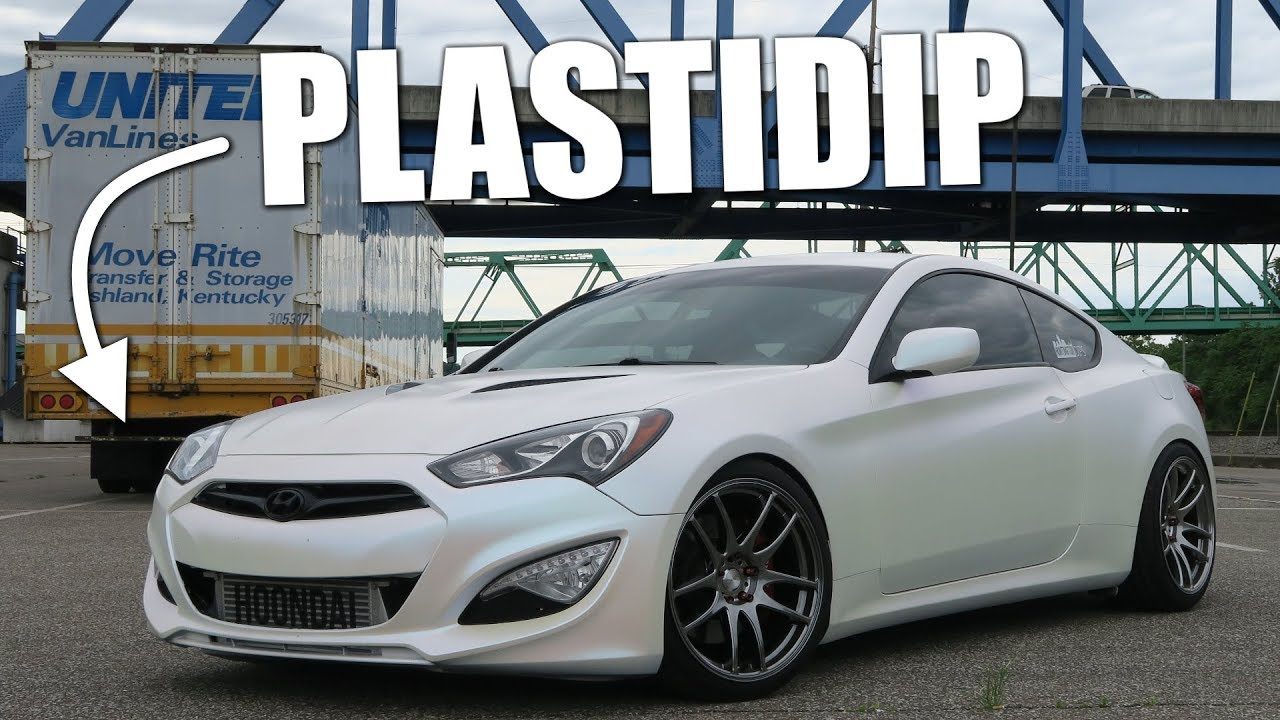 Why You Shouldn T Plastidip Your Car Youtube
