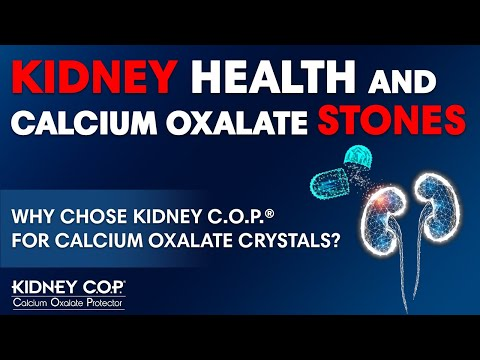 Dr. Matthew Davis...Why Kidney C.O.P. is the Best Supplement For Calcium Oxalate Challenges