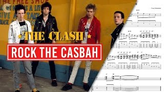 Ukulele  - Rock the Casbah - The Clash - Sheet Music, Chords, & Vocals