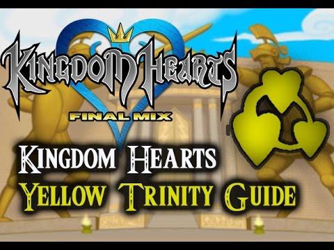 Kingdom Hearts 1.5 HD Final Mix- Yellow Trinity Guide
