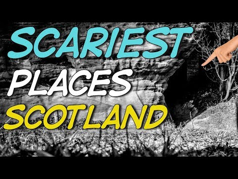 Scariest Places In Scotland Revealed - Caves Of East Wemyss