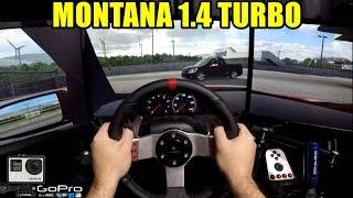 🔴►Live For Speed - Montana 1.4 Turbo 230Cv Rebaixada - Pov Gopro Onboard - Racha com Getaway