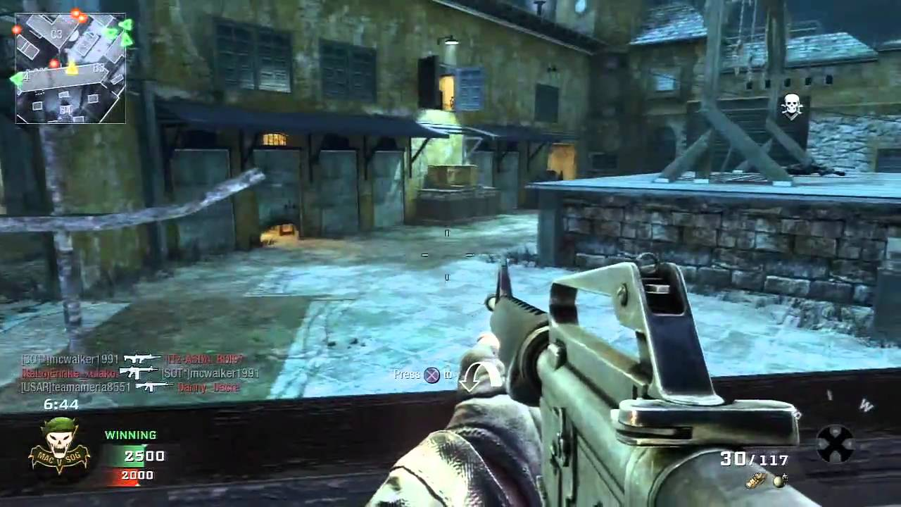 black ops live commentary first game online ps3 huzaifa