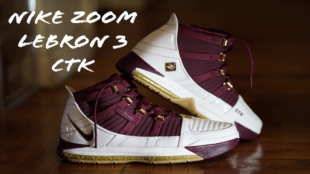 buy popular 7efca 4ae7a  Sneakers  Lebron3  Christtheking