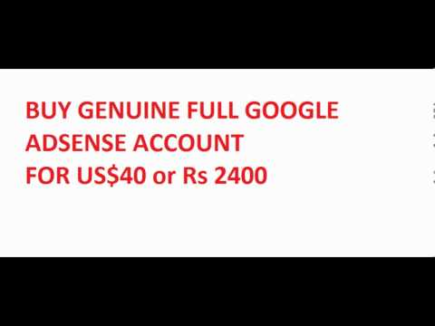 Buy Genuine Google Adsense Account