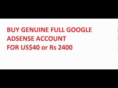 Buy Genuine Google Adsense Account