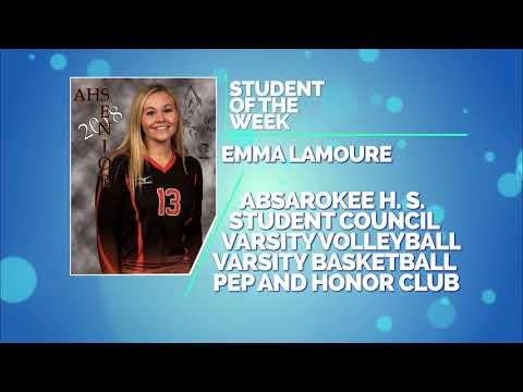 Student of the Week: Emma LaMoure and Becka Lester of Absarokee High School