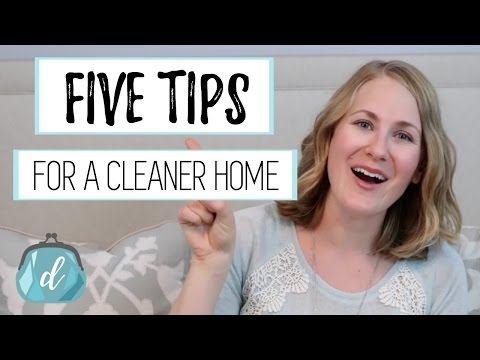5 Tips for a Cleaner Home